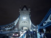 London Bridge bei Nacht