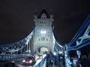 London Bridge bei Nacht