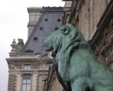 Louvre beim Lions-Eingang