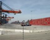 Automatisierter Hafen