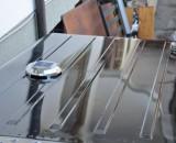 Solarlüfter für Raumzirkulation