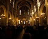 Eine der vielen Kirchen und Zitadellen in Lourdes